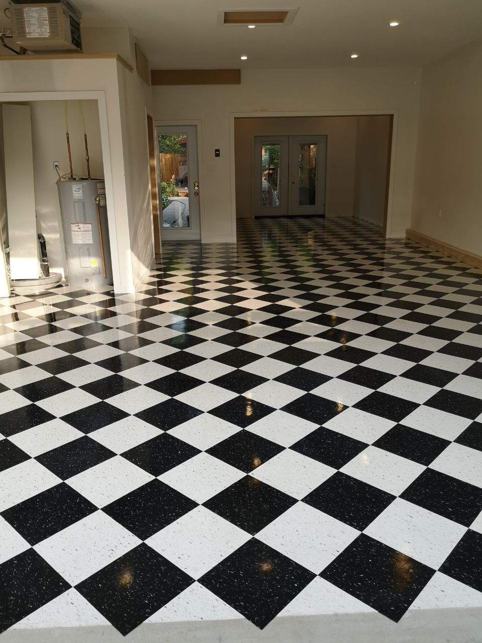 view of a clean floor